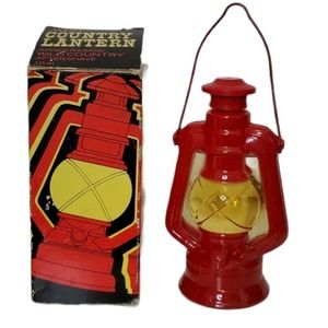 VINTAGE 1970'S Avon Country Lantern Aftershave